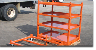 Heavy Duty Assembly Line Cart