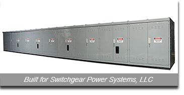 Built for Switchgear Power Systems, LLC. Photo courtesy of Stolley Studio, LTD.